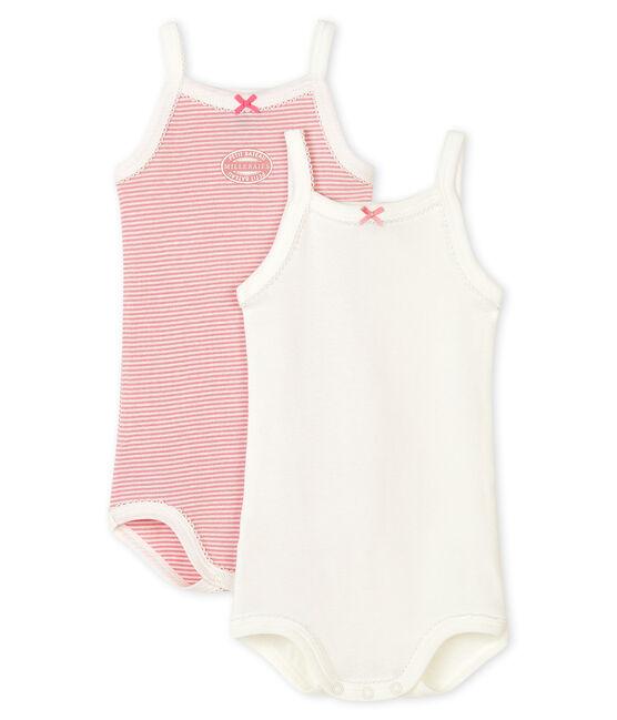2er-Set Baby-Trägerbodys für Mädchen lot .