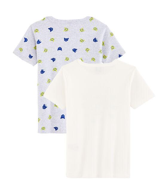 2er-Set T-Shirts für kleine Jungen lot .