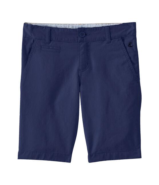 Kinder-Bermuda für Jungen blau Smoking