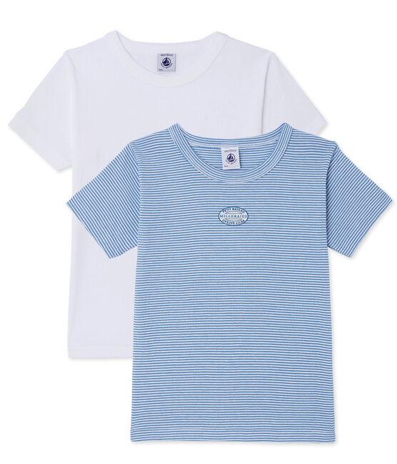 Jungen-T-Shirts im 2er-Set lot .