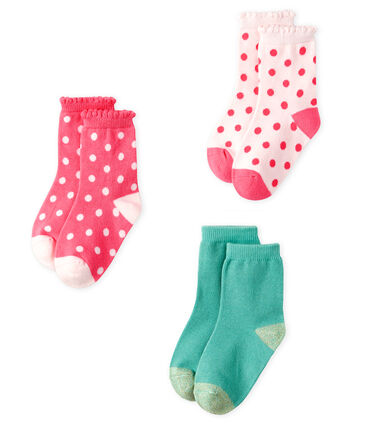 3er-Set Babystrümpfe Mädchen