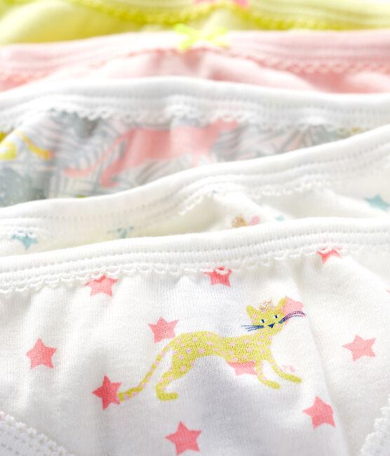 Set mit 5 Unterhosen für kleine Mädchen lot .
