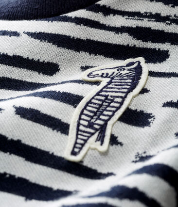 Unisex-Baby-Sweatshirt von Jean Jullien MARSHMALLOW/DASH