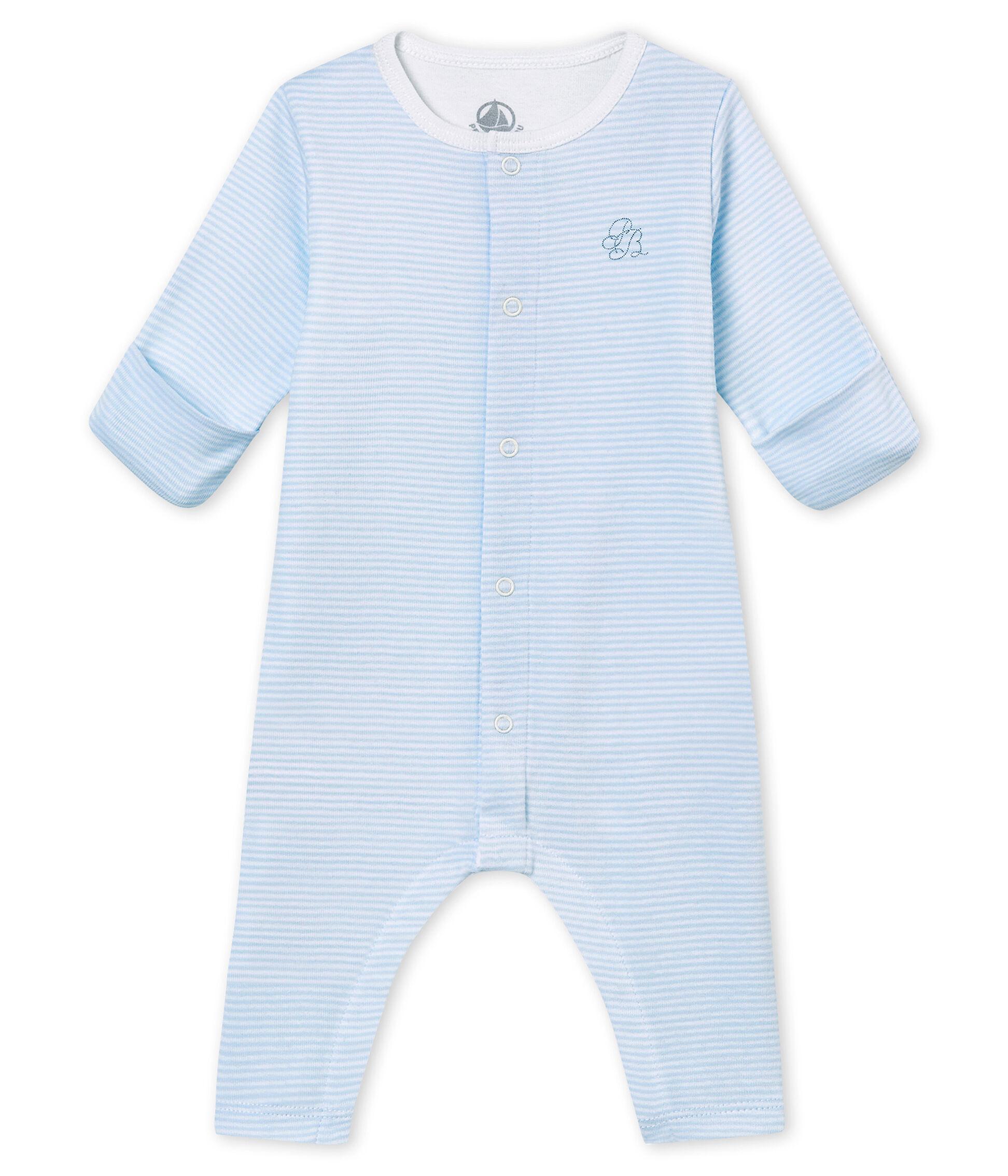 NEU! von Petit Bateau royalblau Strampler//Overall//Schlafanzug ohne Fuß