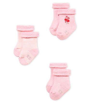 3er-Set baby-strümpfe unisex