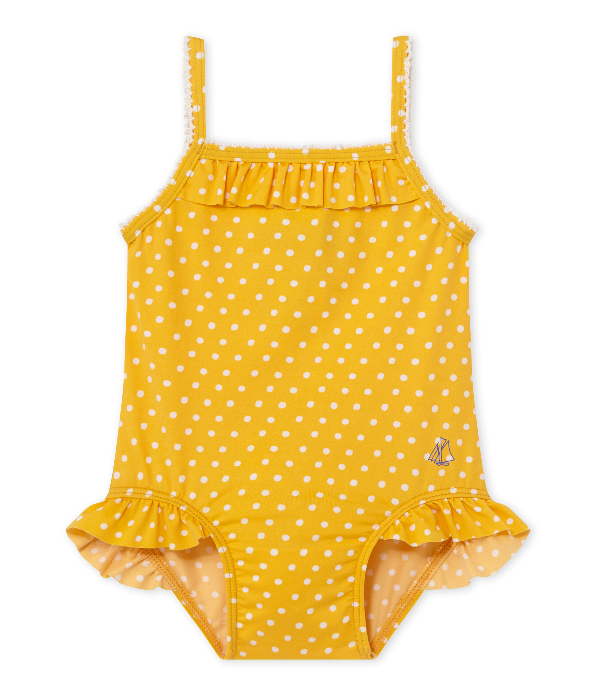 Petit Bateau Baby-M/ädchen Badeanzug