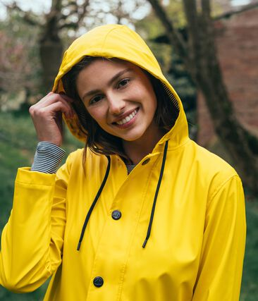 Regenjacke unisex gelb Jaune