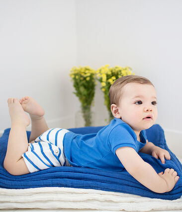 2-Teiliges gestreiftes baby-set für jungen