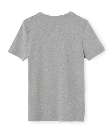 Emblematisches kurzärmliges T-Shirt für Herren grau Subway
