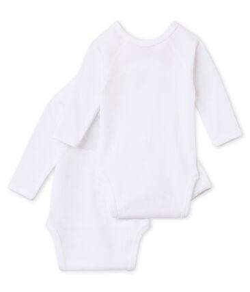 2er-Set langärmlige Bodys für Neugeborene