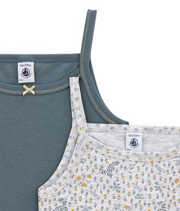 Mädchen Unterhemden im 2er-Set