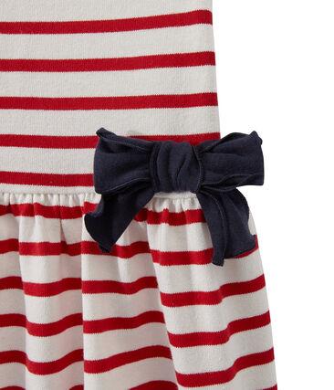 Gestreiftes Mädchen-Kleid