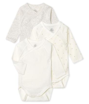 3er-Set langärmlige Bodys für Neugeborene lot .