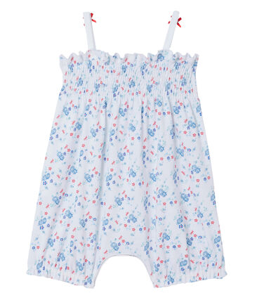 Kurzer Baby-Mädchen-Einteiler mit Print