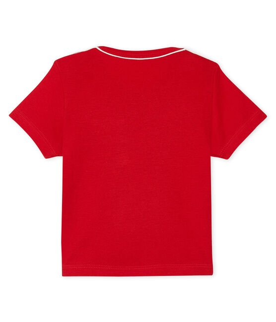 Tee shirt manches courtes bébé garçon rot Terkuit