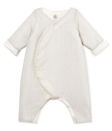 Gestreifter baby-labgoverall jungen