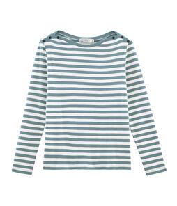 Langarm-t-shirt damen
