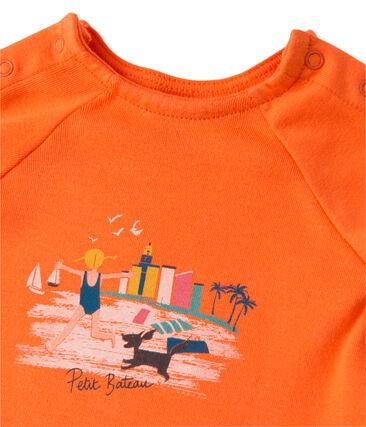 Set aus Baby-Mädchen-Shorts und T-Shirt