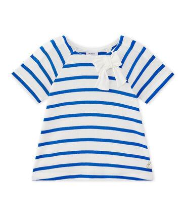 Gestreiftes Baby-Mädchen-Kurzarmshirt