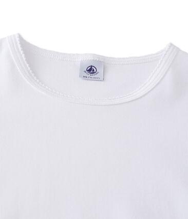 Einfarbiges kurzarm-t-shirt damen