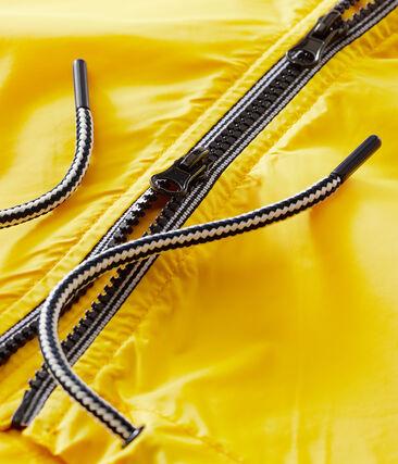 Lange Windjacke für Damen gelb Shine