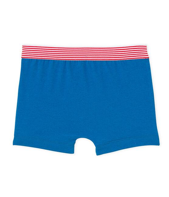 Jungen-Boxershorts mit Motiv blau Mykonos