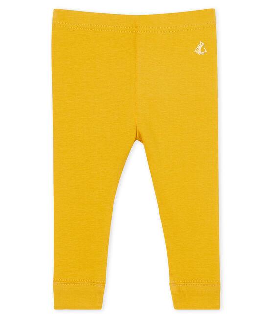 Baby-Legging Mädchen gelb Boudor