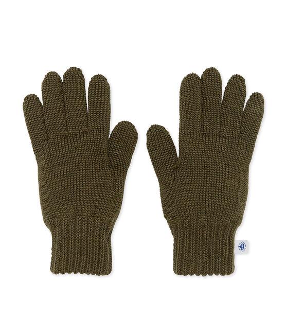 Kinder-Handschuhe grün Crocodile