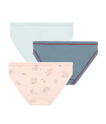 Trio Unterhosen für kleine Mädchen