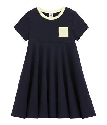 Mädchen-Kleid aus leichtem Jersey