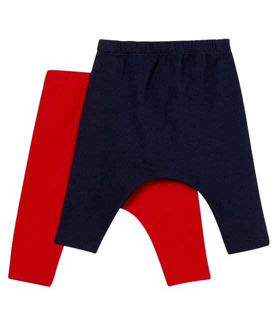2er-Set baby-leggings unisex lot .