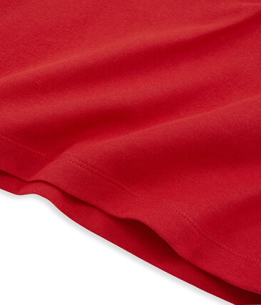 Emblematisches langärmliges T-Shirt für Damen rot Terkuit
