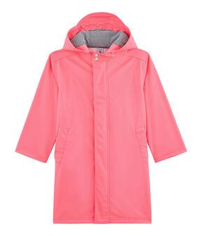 Kinder-Regenjacke für Jungen und Mädchen rosa Cupcake