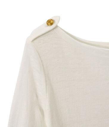 Damen-T-Shirt aus Leinen