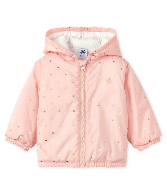 Baby-Blouson, Unisex, mit Fleecefutter rosa Minois / gelb Or