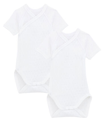 Duo kurzärmelige Neugeborenen-Bodys Unisex