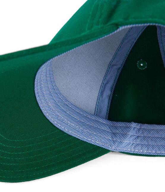 Kinder-Kappe Unisex grün Ecology