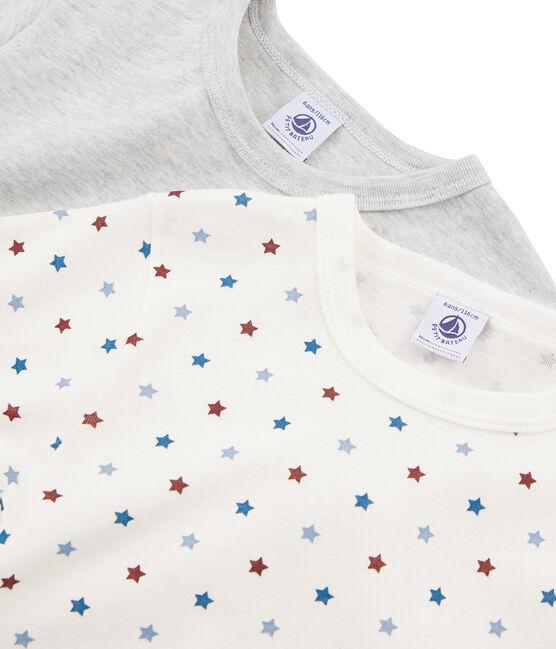 2er-er Set kurzärmlige T-Shirts für kleine Jungen lot .