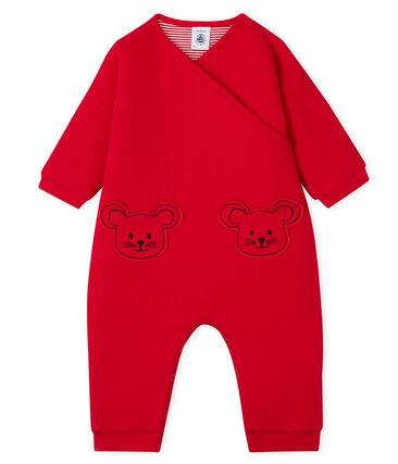 Baby-Overall Unisex rot Terkuit