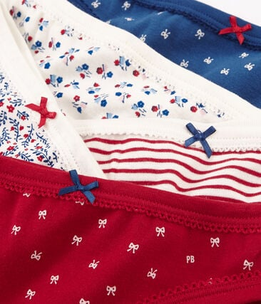 5er-Set Unterhosen für kleine Mädchen