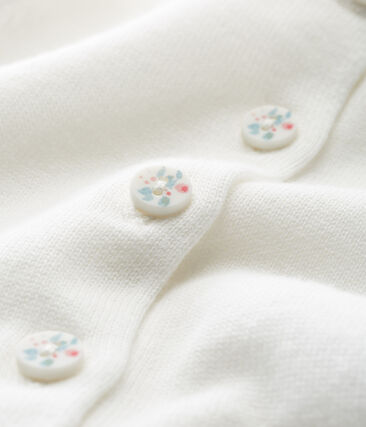 Baby-cardigan aus 100% baumwolle mädchen