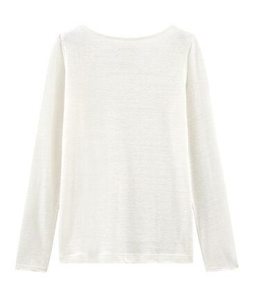 Langarm-leinen-t-shirt damen