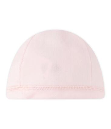 Unisex Baby Mütze aus Nicki für Neugeborene rosa Vienne