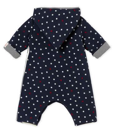 Langer Baby Jungen Overall mit Sternen-Print