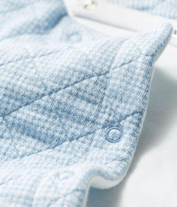 Langer Baby-Overall aus gestepptem Doppeljersey