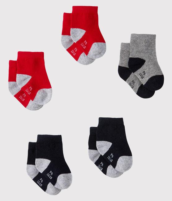 Set mit 5 Paar Baby-Socken lot .