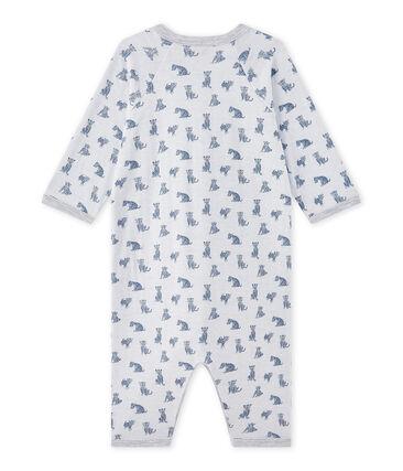Baby-Jungen-Strampler ohne Fuß aus gedoppeltem Jersey