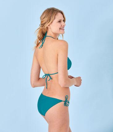 Einfarbiger Damen Bikini