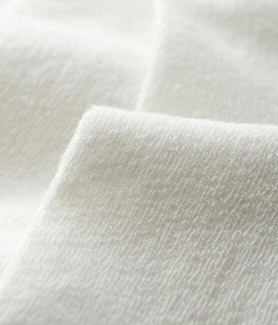Baby-Ajouré-Strumpfhose für Mädchen weiss Marshmallow