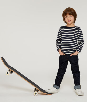 Emblematisches Kinder-Streifenshirt für Jungen